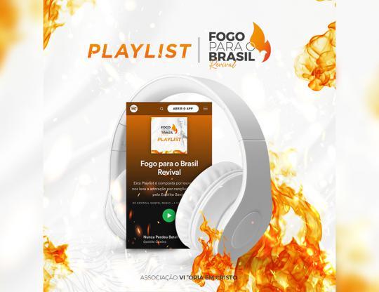 Uma playlist e mensagens para aquecer o seu coração