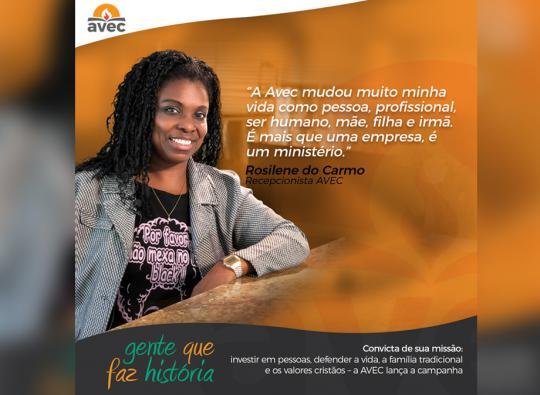 Avec lança campanha: Gente que faz história