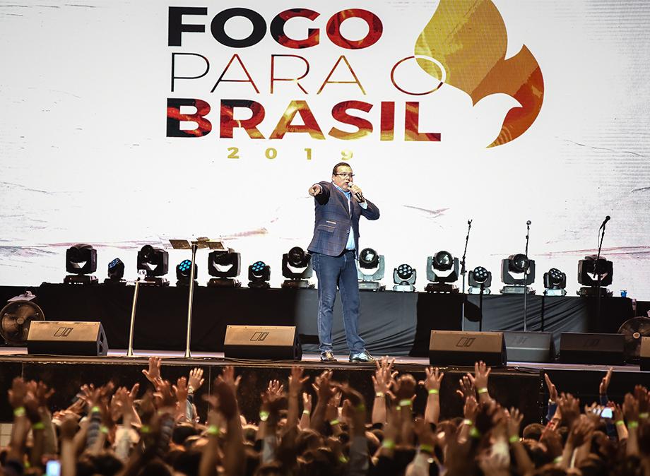 Recife recebe o Fogo para o Brasil