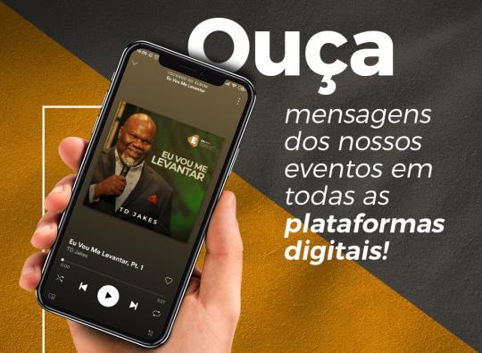 Ministrações dos eventos da Avec agora nas plataformas digitais