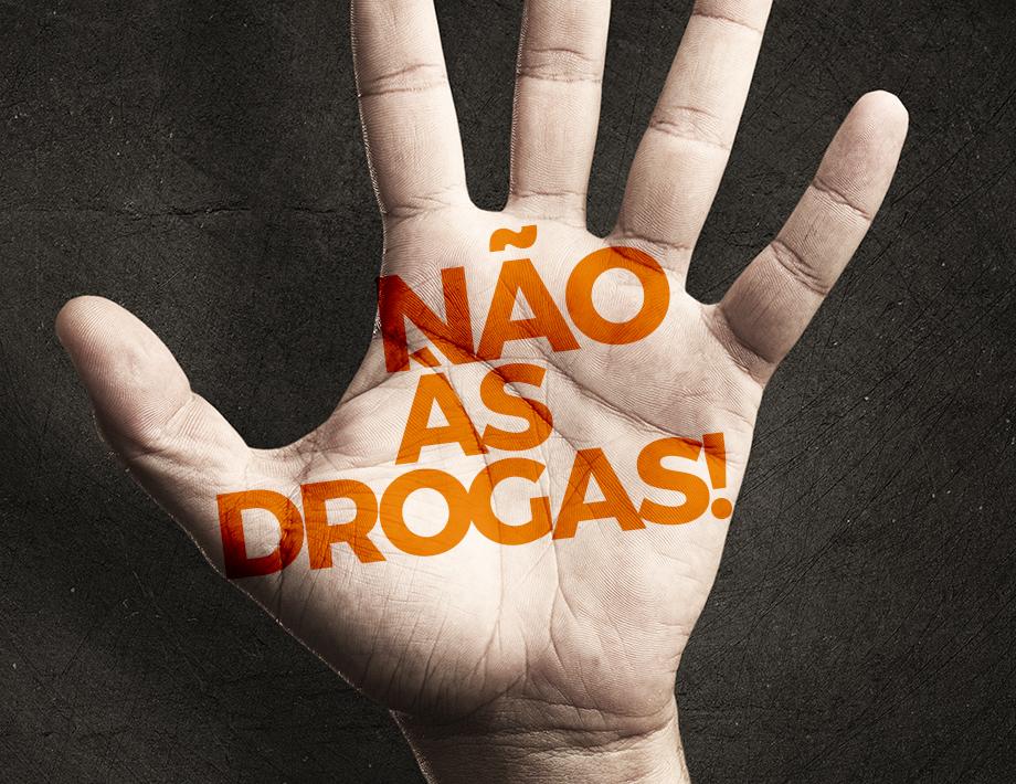 Combate às drogas: Nós apoiamos essa causa!