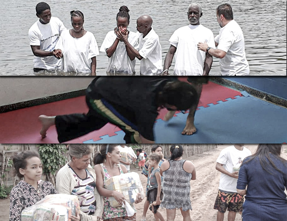 Batismo, capoeira, cestas básicas... Seguimos transformando vidas