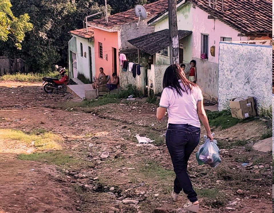 Durante pandemia, famílias na Paraíba receberam doação de kits de higiene