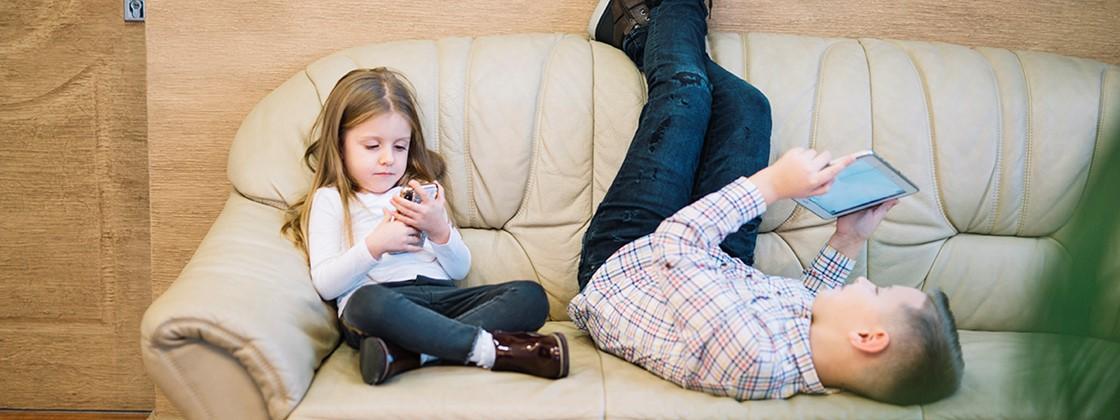 86% das crianças brasileiras estão conectadas à internet